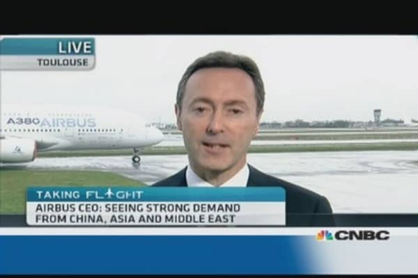 Airbus 'runs the show': CEO