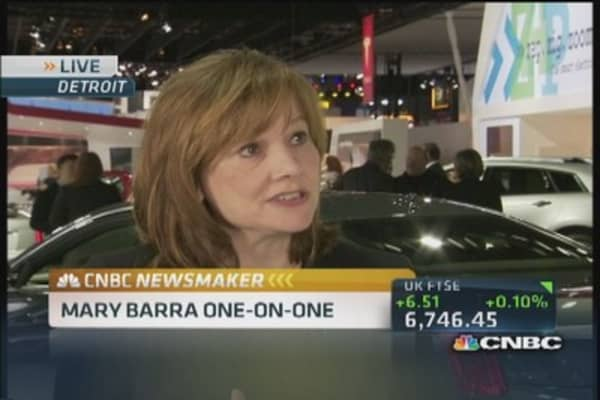 GM's Mary Barra focused on the future
