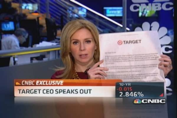 Malware was installed on registers: Target CEO