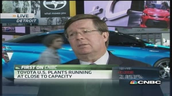 Toyota CEO: Alternative fuel vehicles are 'real deal'