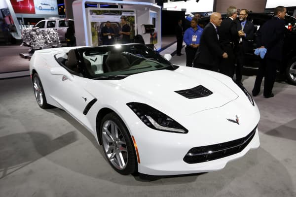 Chevrolet's Corvette Stingray has been named North American Car of the Year.
