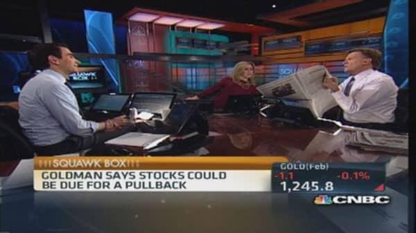 Market drop per Goldman