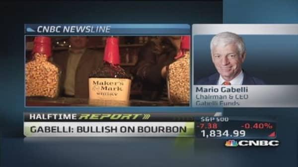 Gabelli: Bullish on bourbon