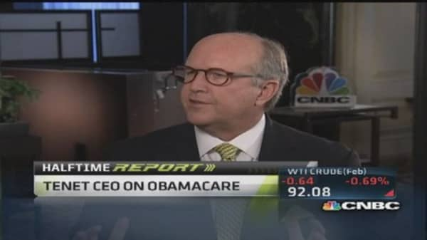 Tenet CEO: Prepared for surge of patients