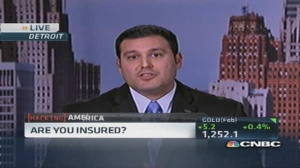 Hacker insurance for businesses