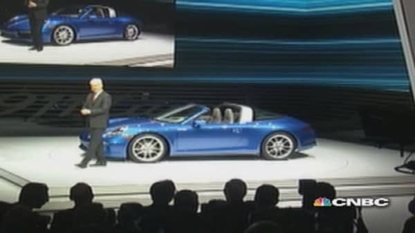 New cars unveiled in Detroit