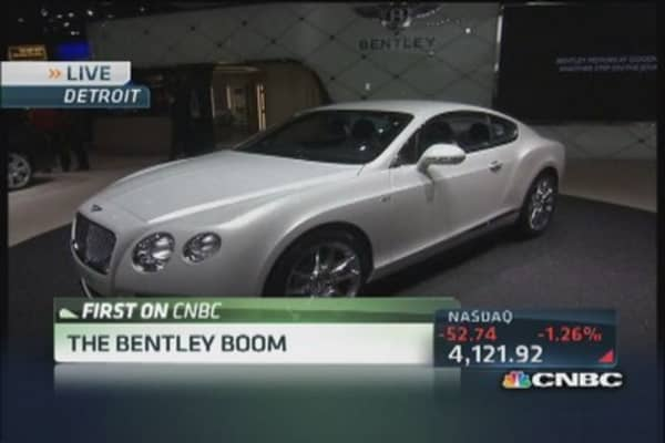 Bentley Continental GT V8 on sale late 2014