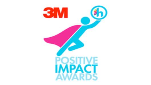 Positive Impact Awards 3M & Hispanicize Logo