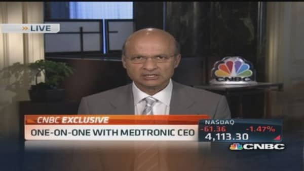 Medtronic CEO: Rich cadence of product launches in pipeline