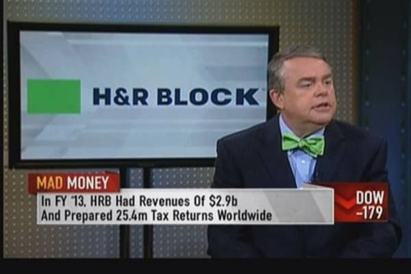 H&R Block's Cobb: Shifting back to a tax preparation company