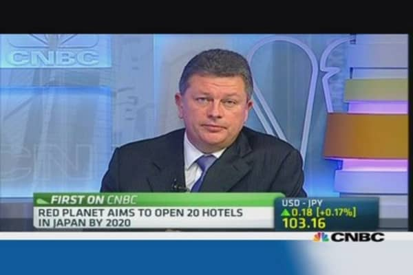 Red Planet to open 20 hotels in Japan by 2020