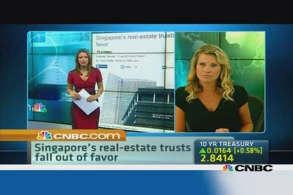 Singapore's REITs in a struggle