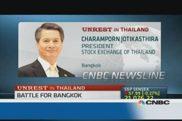 Stock Exchange of Thailand resilience: President