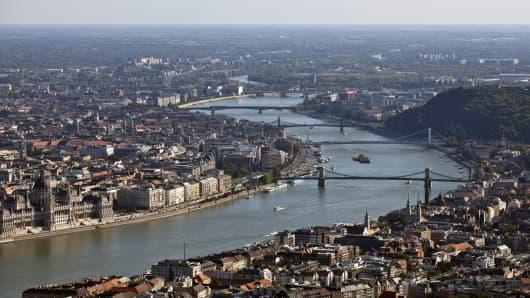 The Hungarian capital