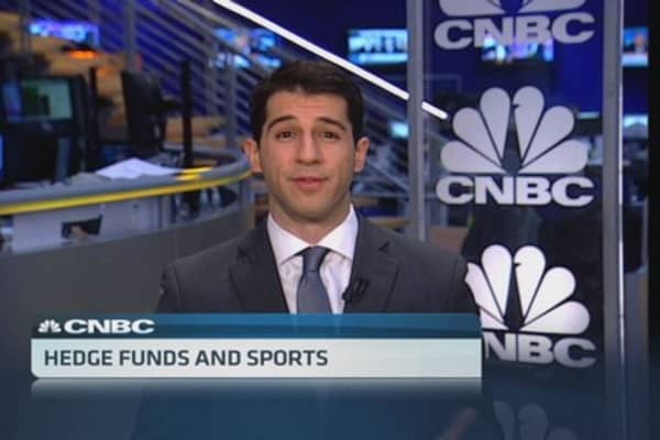 Hedge fund managers & sports teams