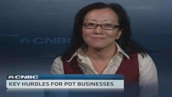 Pot sellers face regulatory roadblocks