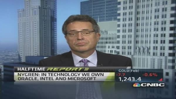 Nygren's top tech picks: Oracle, Intel & more
