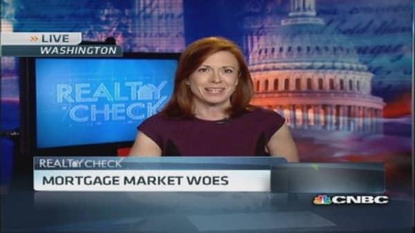 New lending rules hit mortgage market