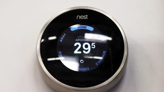 Nest Learning Thermostat, made by Nest Labs