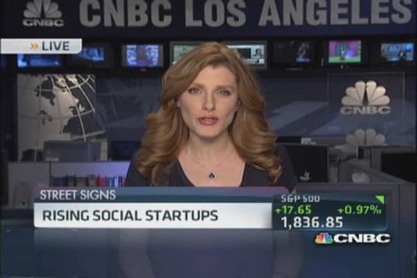 Rising stars in social media