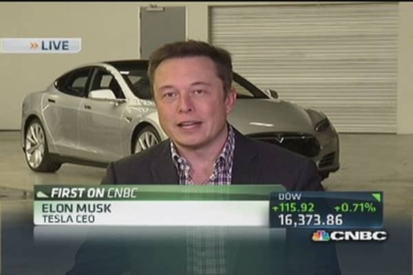 Tesla CEO: Doesn't make sense to call charger fix a recall