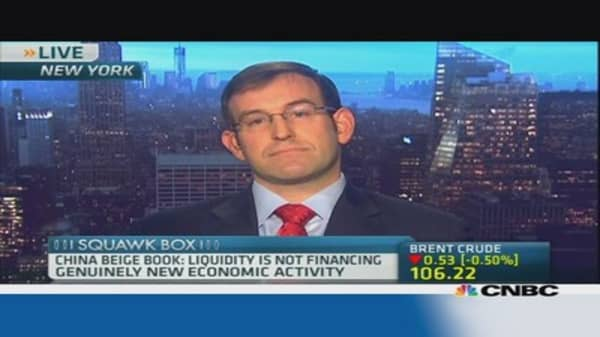 China liquidty isn't financing new activity: CCB
