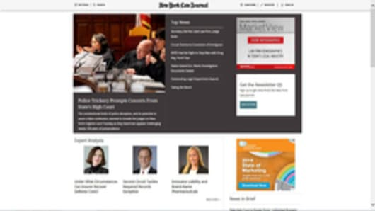 New York Law Journal Homepage