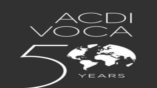 ACDI/VOCA 50 Anniversary Logo