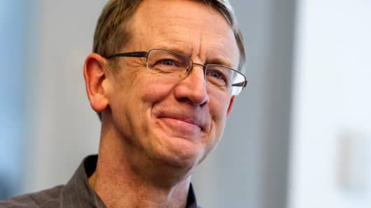 John Doerr, Senior Partner with Kleiner Perkins Caufield & Byers