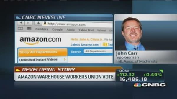 We did not target Amazon workers: Union spokesman