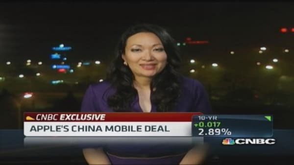 Apple CEO: China Mobile deal 'watershed moment' for Apple