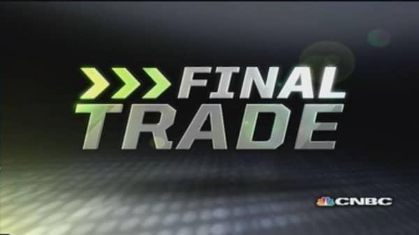 Fast Money Final Trade: PTAM, AMCC, MS & QCOM