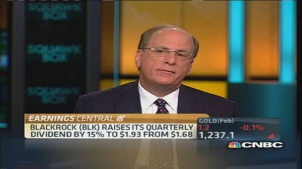 BlackRock's CEO: Great rotation will be in bonds