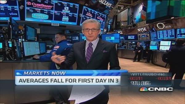 Pisani's market: Watch bank stocks