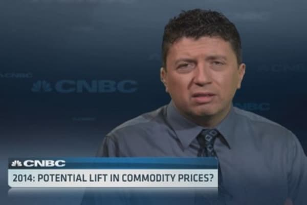 Volatility's friendly link to commodities