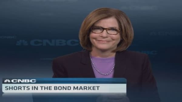 Shorts in the bond market