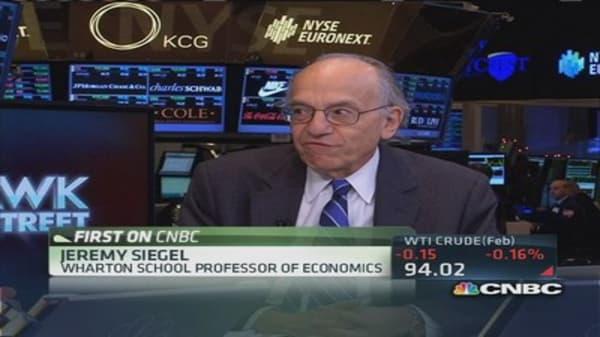 Jeremy Siegel: 18,000 fair value for Dow