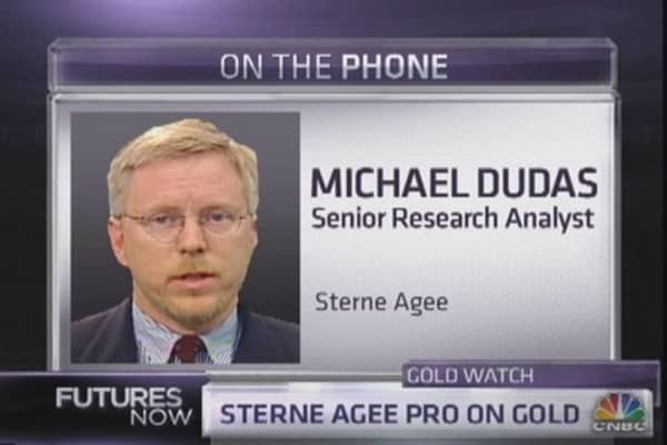 Sterne Agee¿s case for buying gold