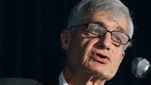 Former Treasury Secretary Robert Rubin