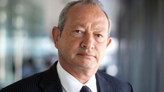 Egyptian billionaire Naguib Sawiris.
