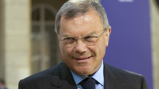 Martin Sorrell, the former chief executive officer of WPP Plc.