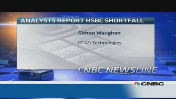 Market not concerned about HSBC: Pro