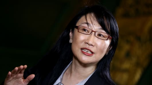 Cher Wang, chairwoman of HTC