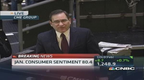 January consumer sentiment 80.4