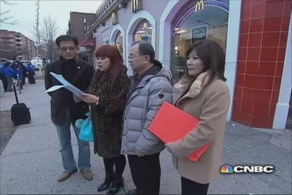 McDonald's responds to loitering elderly customers