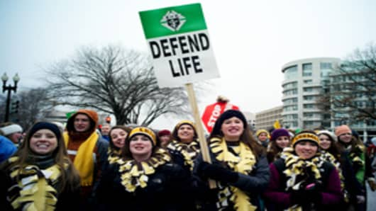 "Join the ""March for Life"" in Washington, D.C. on Jan. 22, 20"