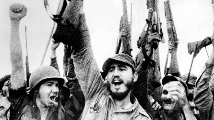 Fidel Alejandro Castro Ruz (born August 13, 1926) is a communist Cuba politician. This photo is circa 1954.