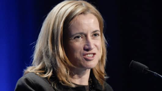 Blythe Masters, global head of commodities at J.P. Morgan Chase & Co.