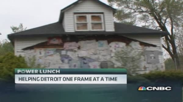Holstee: Helping Detroit one frame at a time