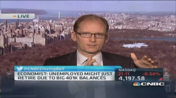 401(k)s to blame for fallen labor participation rate?